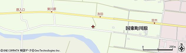 大分県国東市国東町川原755周辺の地図