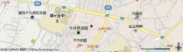 大分県中津市大貞316周辺の地図