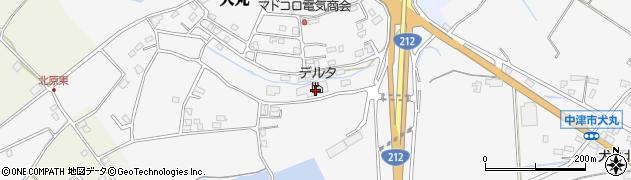 大分県中津市犬丸2315周辺の地図