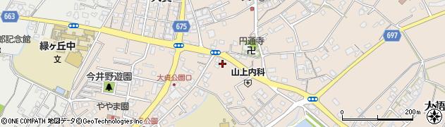 大分県中津市大貞261周辺の地図