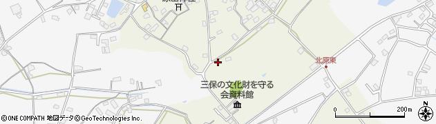 大分県中津市北原231周辺の地図