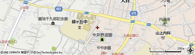 大分県中津市大貞317周辺の地図