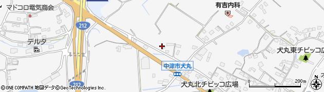 大分県中津市犬丸1967周辺の地図