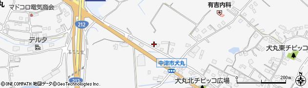 大分県中津市犬丸1971周辺の地図
