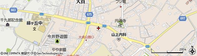 大分県中津市大貞259周辺の地図