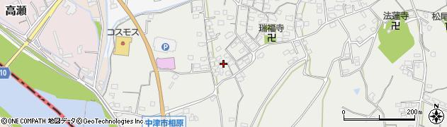 大分県中津市相原3627周辺の地図