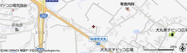 大分県中津市犬丸600周辺の地図
