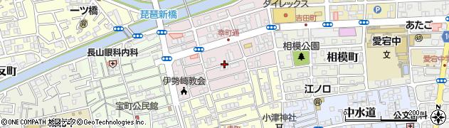 高知県高知市伊勢崎町周辺の地図