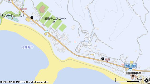 〒649-2511 和歌山県西牟婁郡白浜町日置の地図