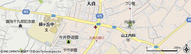 大分県中津市大貞298周辺の地図