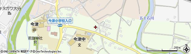 大分県中津市植野1871周辺の地図