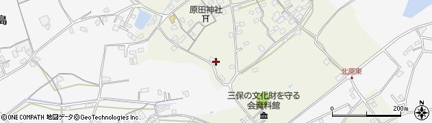 大分県中津市北原326周辺の地図