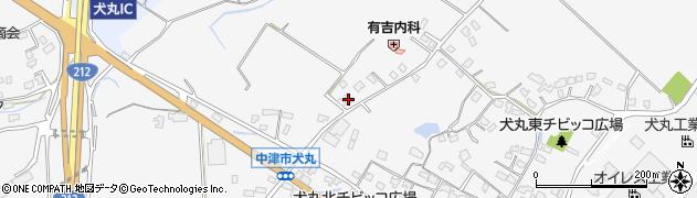 大分県中津市犬丸1944周辺の地図