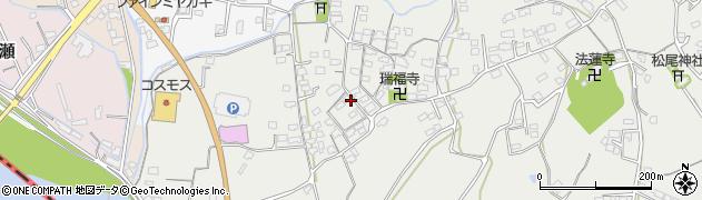 大分県中津市相原3612周辺の地図