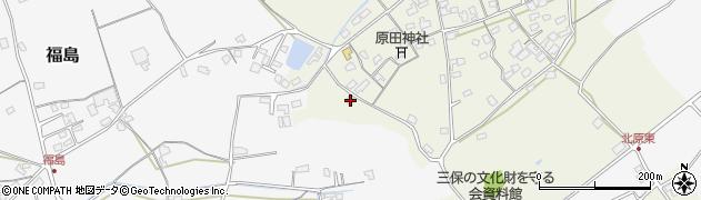 大分県中津市北原360周辺の地図
