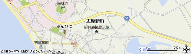 福岡県糸島市志摩新町周辺の地図