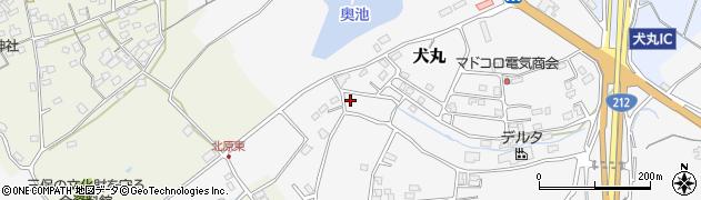 大分県中津市犬丸2287周辺の地図