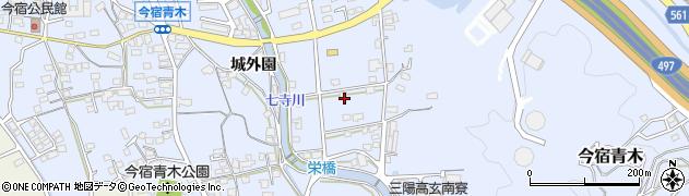 福岡県福岡市西区今宿青木459周辺の地図