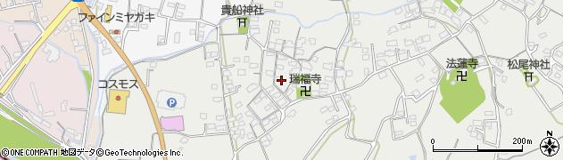 大分県中津市相原3610周辺の地図