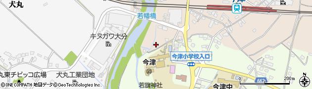 大分県中津市今津1123周辺の地図