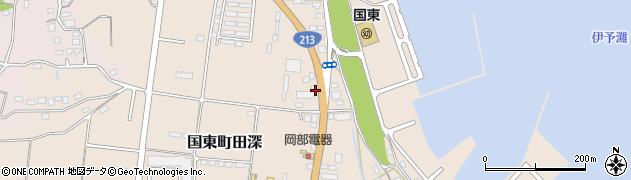 大分県国東市国東町田深951周辺の地図