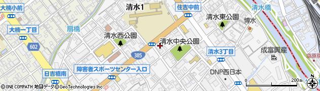 しらゆり セレモニーホール福岡南周辺の地図
