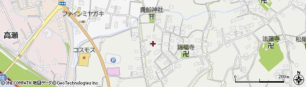 大分県中津市相原3650周辺の地図