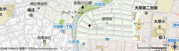 福岡県福岡市早良区原団地周辺の地図