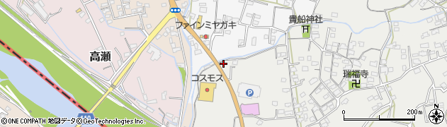大分県中津市相原3314周辺の地図