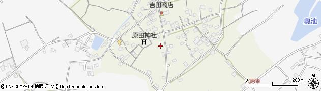 大分県中津市北原280周辺の地図