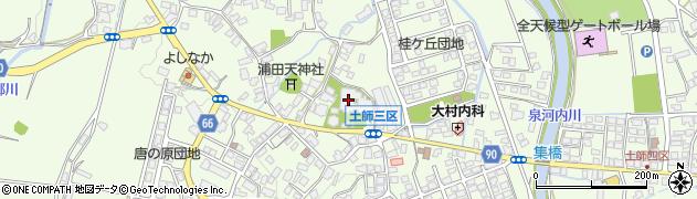 長明寺周辺の地図