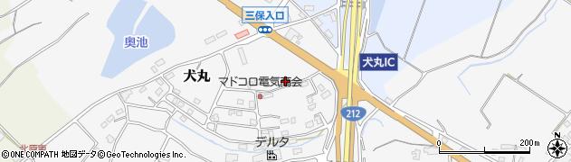大分県中津市犬丸2373周辺の地図