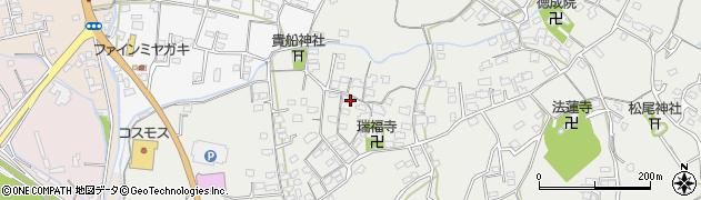 大分県中津市相原3601周辺の地図