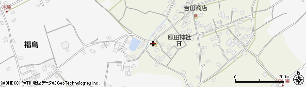 大分県中津市北原385周辺の地図