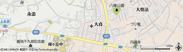 大分県中津市大貞351周辺の地図