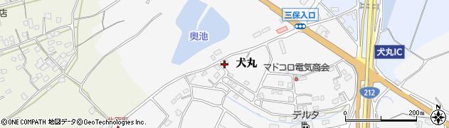 大分県中津市犬丸2329周辺の地図