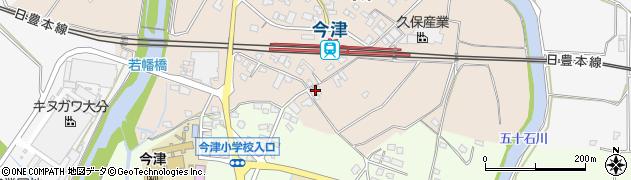 大分県中津市今津1075周辺の地図