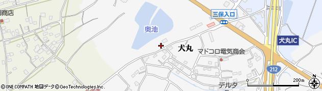 大分県中津市犬丸2427周辺の地図