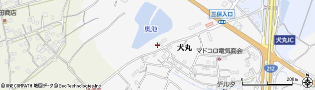 大分県中津市犬丸2428周辺の地図