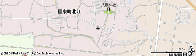 大分県国東市国東町北江830周辺の地図