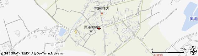 大分県中津市北原189周辺の地図