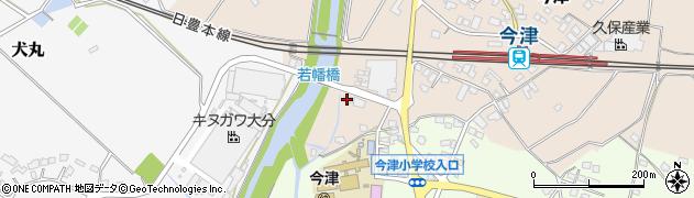 大分県中津市今津1115周辺の地図