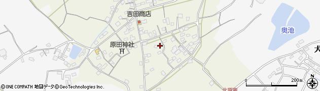 大分県中津市北原791周辺の地図