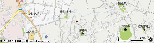 大分県中津市相原3672周辺の地図