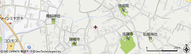 大分県中津市相原3571周辺の地図