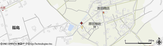 大分県中津市北原419周辺の地図