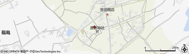 大分県中津市北原391周辺の地図