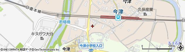 大分県中津市今津1096周辺の地図