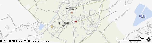 大分県中津市北原701周辺の地図
