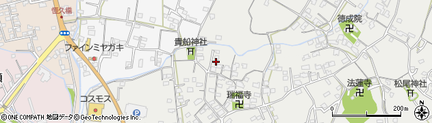 大分県中津市相原3671周辺の地図